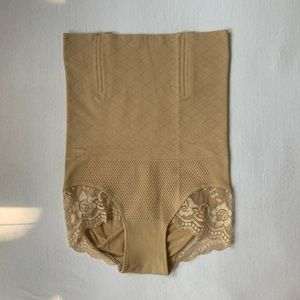 Super High Waisted Nude Shapewear Panty